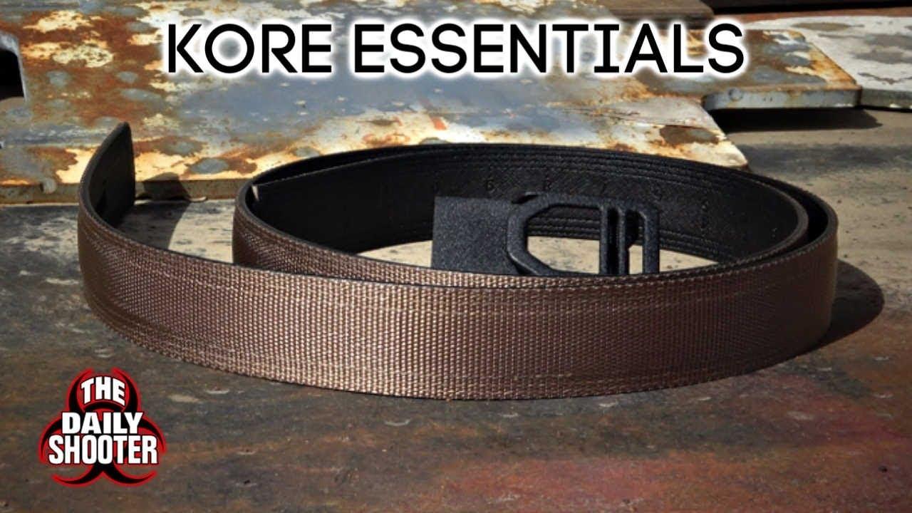 Favorite EDC Gun Belt Kore Essentials Gen 2