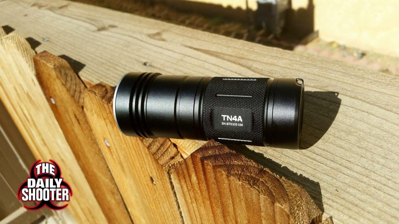Thrunite TN4A & NiteCore EA41 Review and Comparison