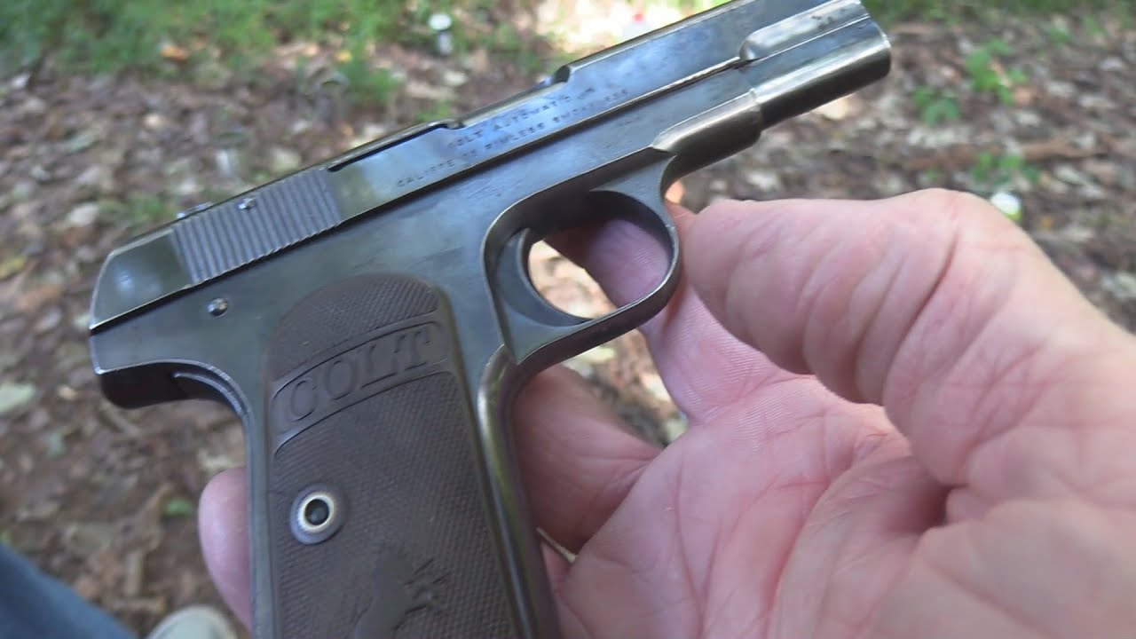 Colt Model 1903 Pocket Hammerless Close-up