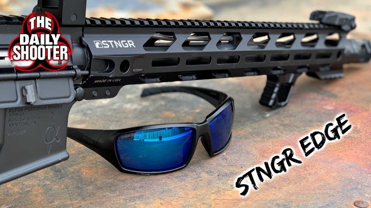STNGR EDGE Ballistics Glasses Review