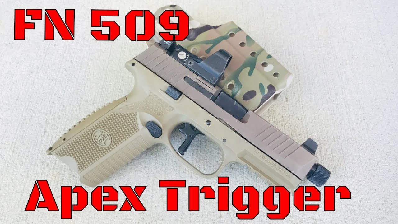 FN 509: Apex Tactical vs Stock Trigger Comparison