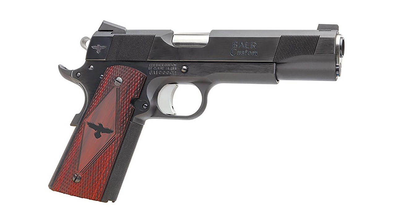 Celebrating the 108th Birthday of the 1911 Pistol with the new Les Baer Gunsite Pistol