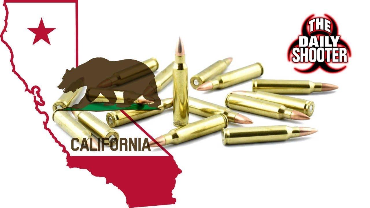 Bringing Ammo into California 2019
