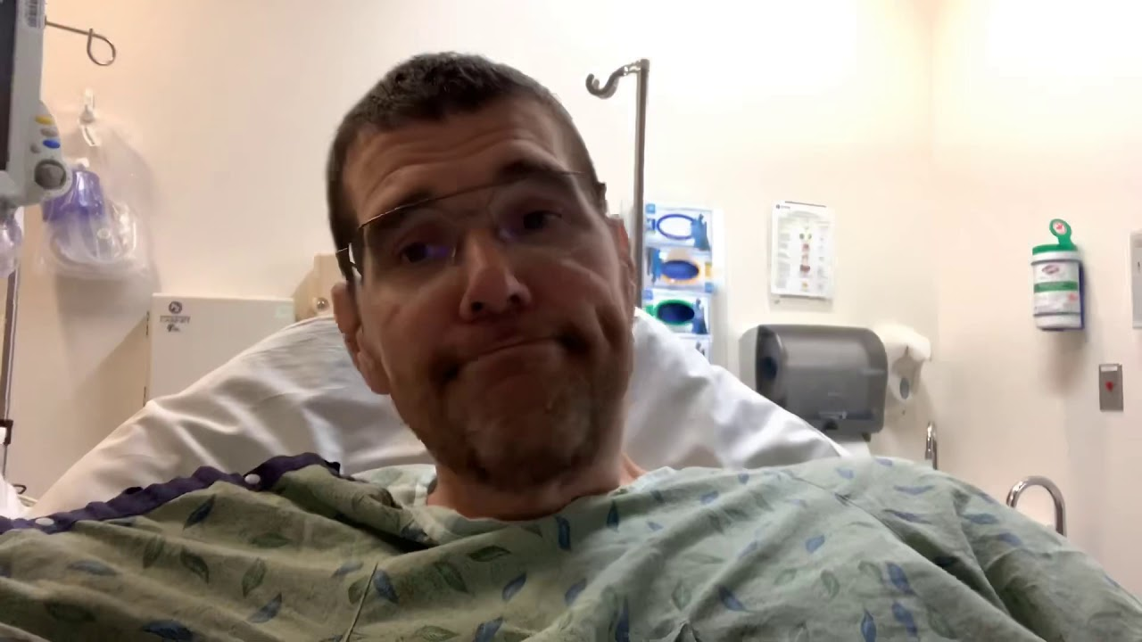 Bulletman is back in the hospital  Officially