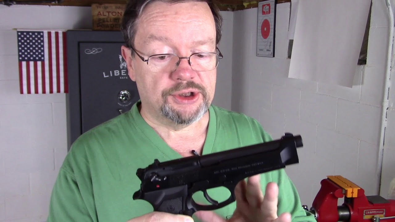 Beretta 92g quick review