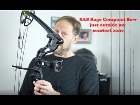 SAS Rage adjustable Bow