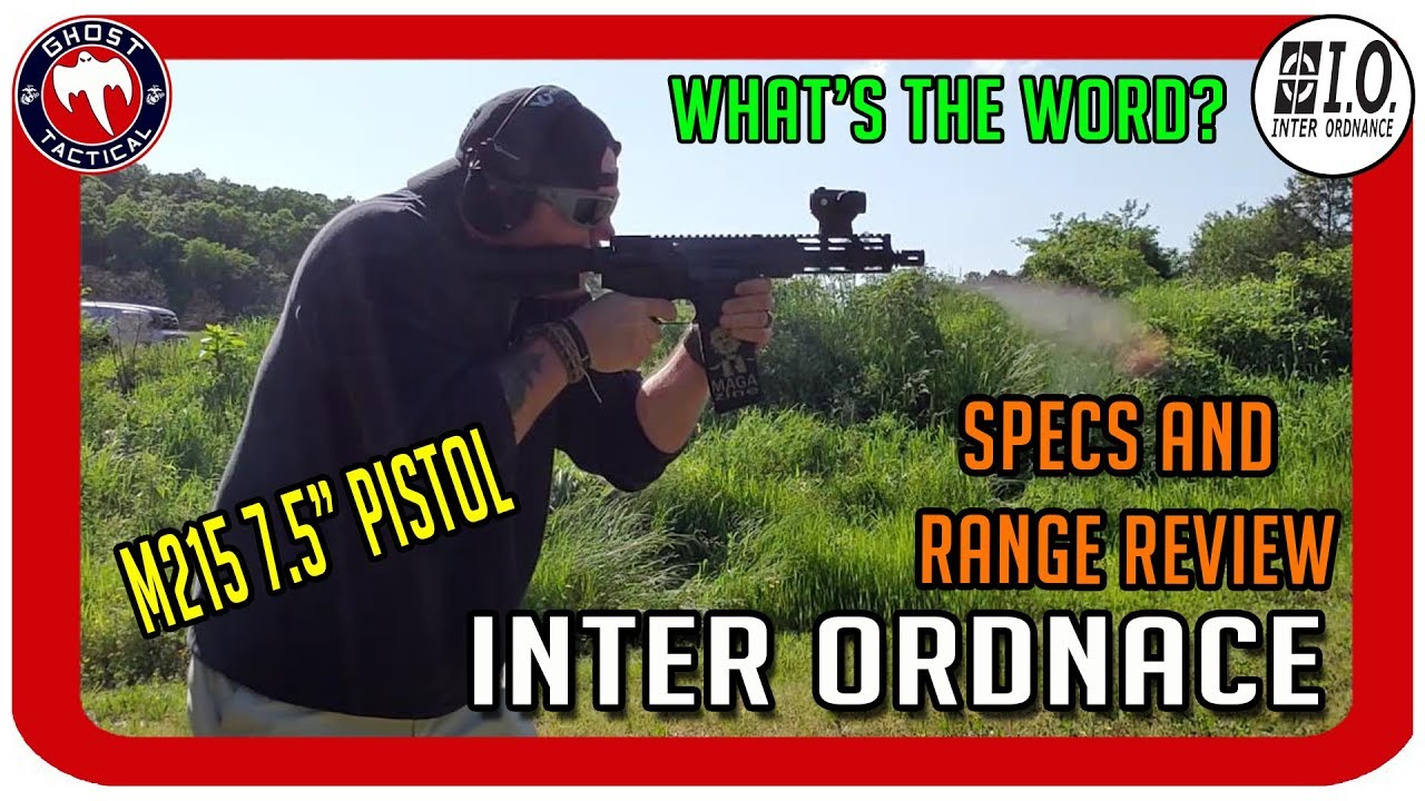 BRAND NEW Inter Ordnance (I.O.) 7.5