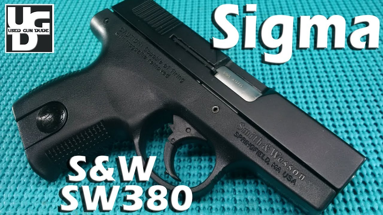 Smith & Wesson Sigma SW380 1st Look Review. The Legend is now in the collection