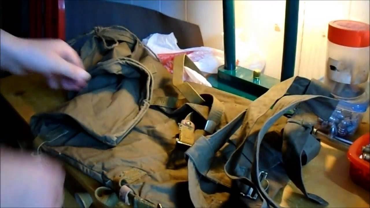 Soviet Backpack Unbagging