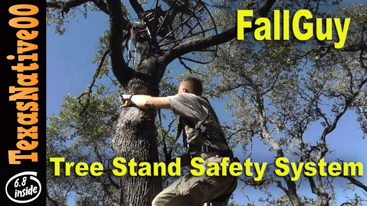 Fall Guy Tree Stand Safety System for Archery & Gun Hunting