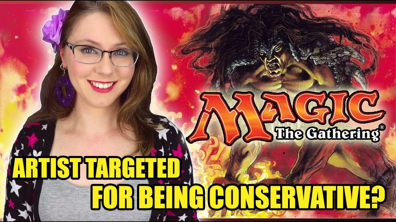 Magic the Gathering Artist Targeted for