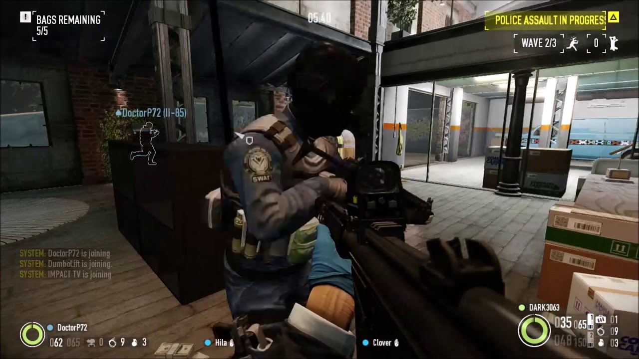 payday 2: safehouse clips