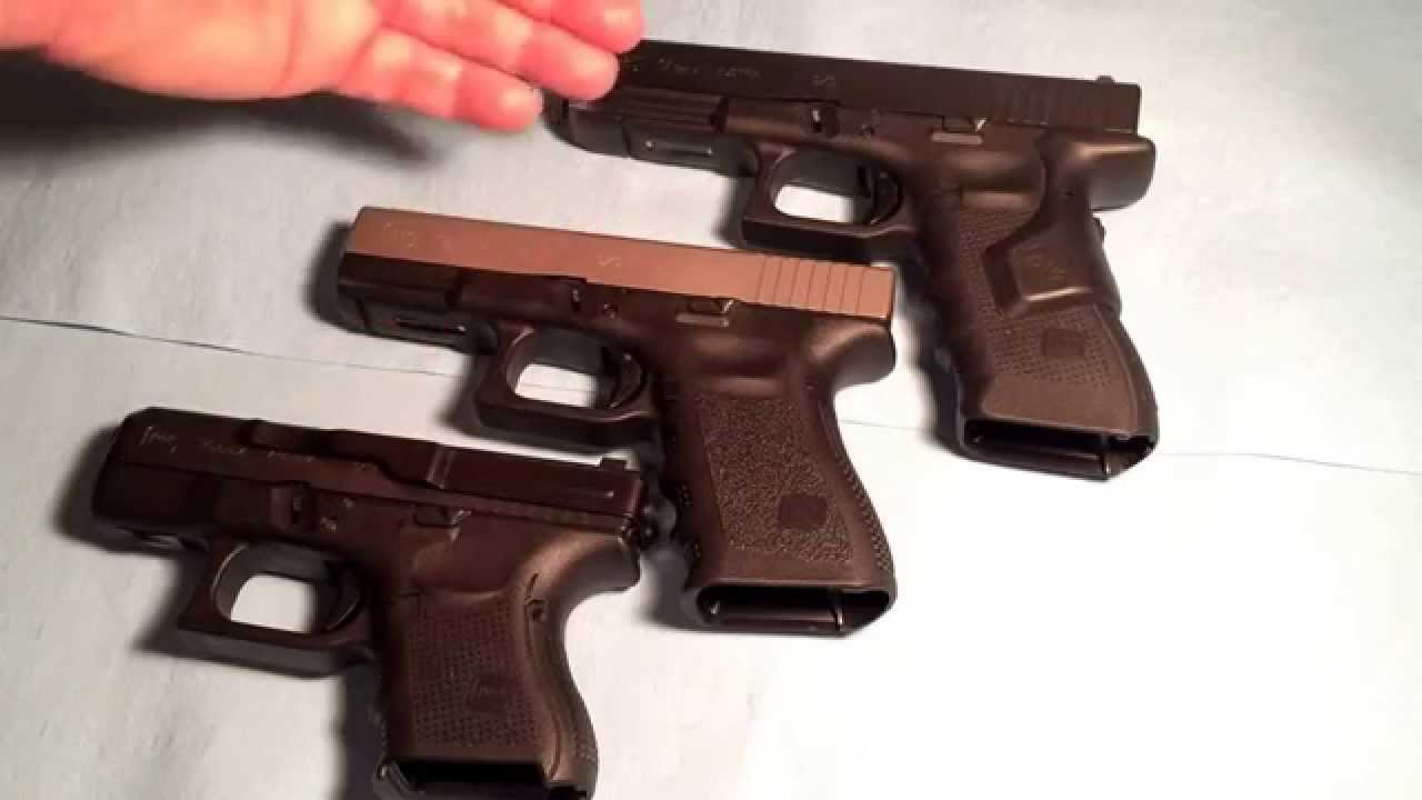 Glocks for concealed carry
