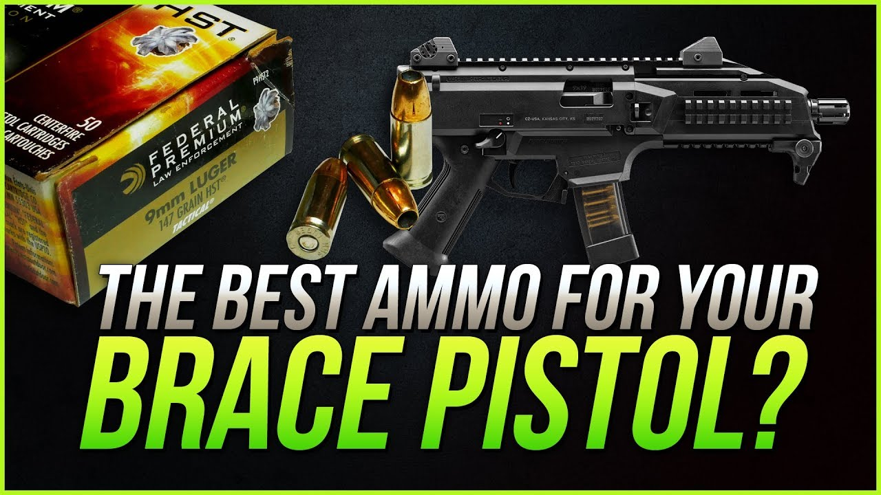 Could This Be The Best Ammo For Your Brace Pistol? 9mm Federal 147gr HST Gel Test
