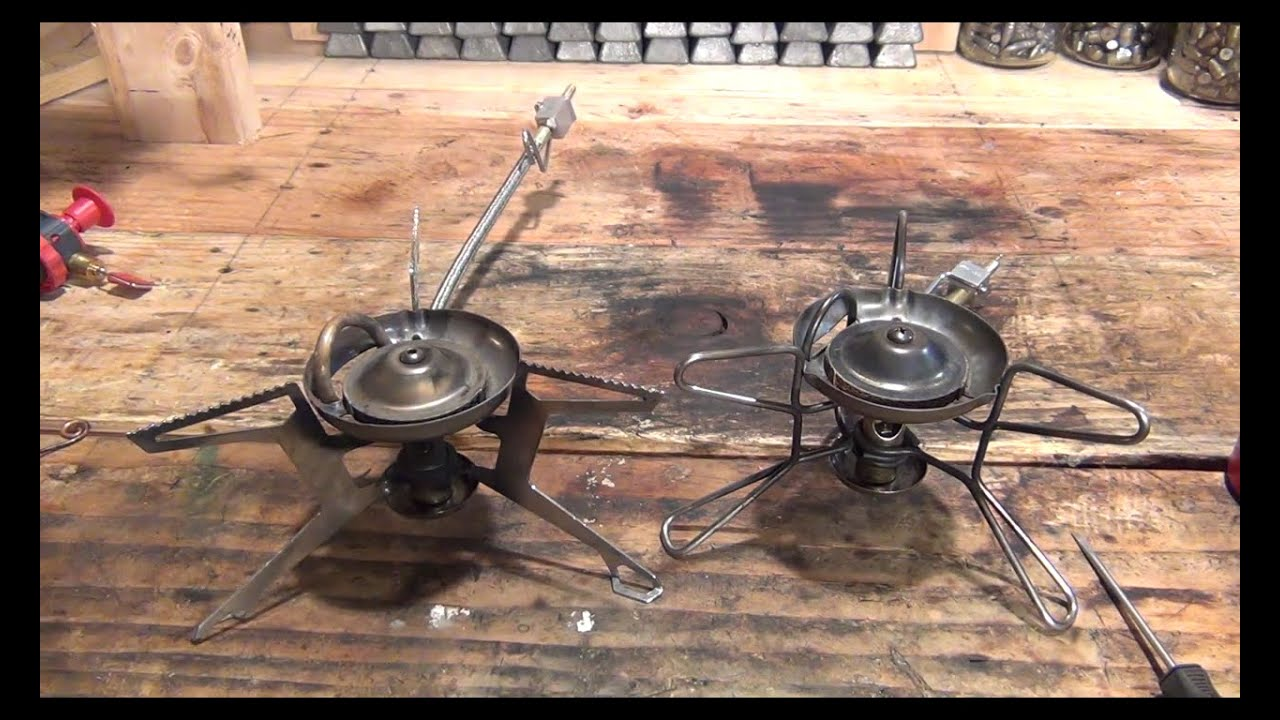 Lighting an old MSR Whisperlite stove