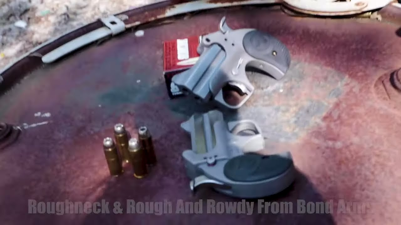 RoughNeck  & Rough N Rowdy Bond Arms Derringers