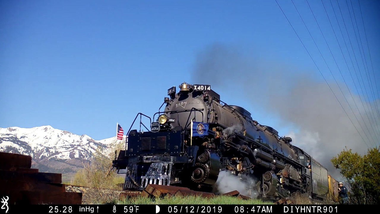 The Big Boy No 4014 In Peterson Utah.