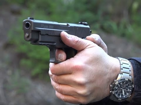 SIG Sauer P226 DPM Systems Recoil Reduction System