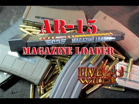 AR15 MAGAZINE LOADER