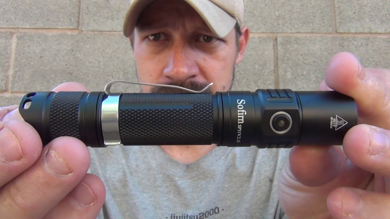 Sofirn SP31 V 2.0 (18650) - 1200 lumens Tactical LED Flashlight
