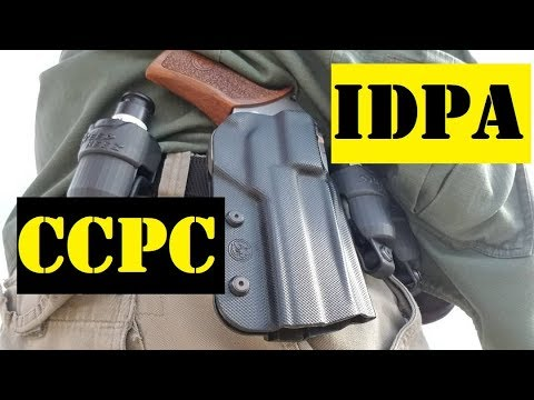 Chiappa Rhino 40DS and Ruger GP100 Match Champion IDPA @ CCPC May 2019