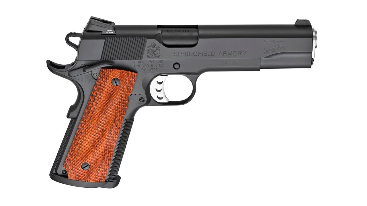 Introduction to the Springfield Armory Custom Shop Professional 1911 in .45 ACP in .45 ACP #559