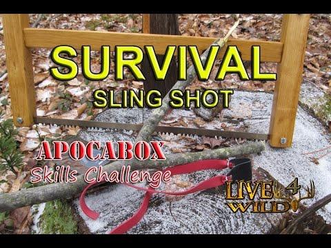 SURVIVAL SLING SHOT