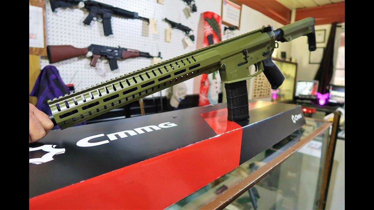 New Rifle - CMMG .458 SOCOM