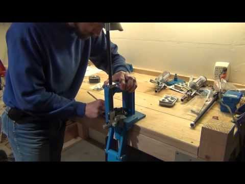 Mounting the Dillon RL550B - Part 1