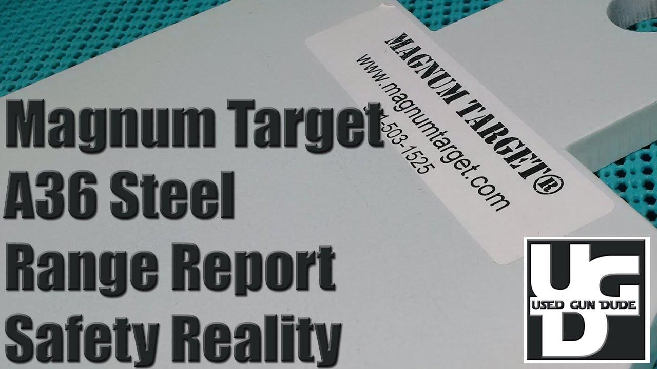 Magnum Target magnumtarget.com Steel Range Review, Not Good, Not Good at all