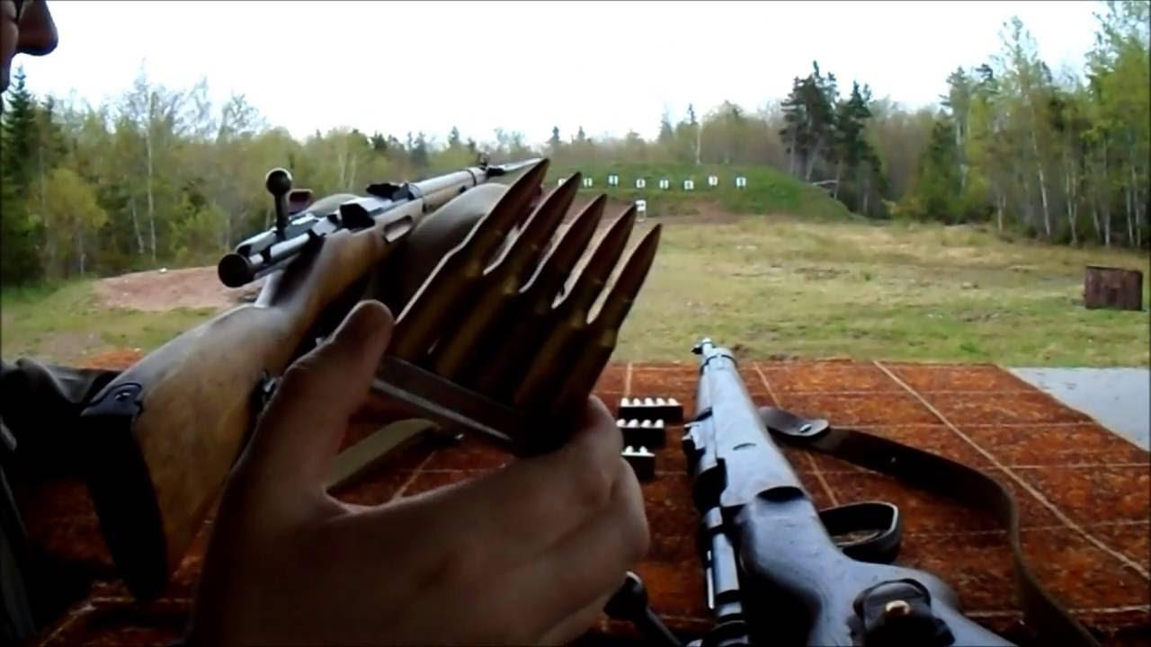 M91/30 Mosin Vs. K98 Mauser @ 100 Yards