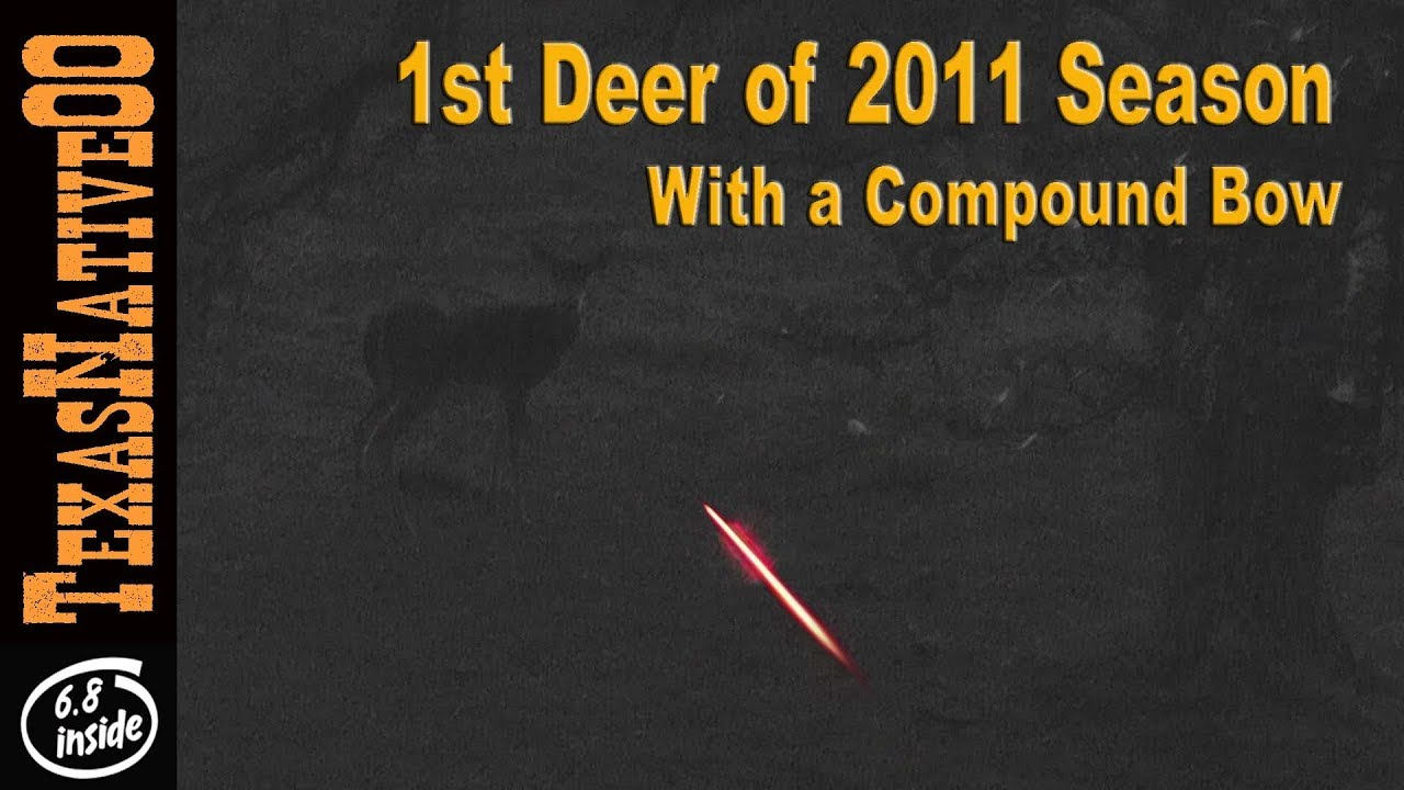 Long Distance Bow Shot - Deer Hunting in Texas