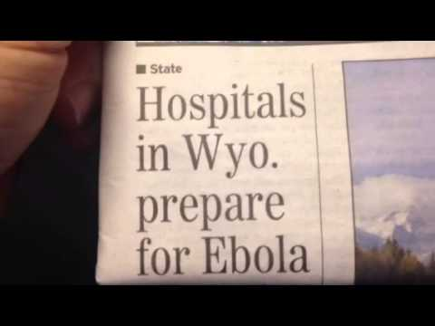 Wyoming hospitals training for Ebola I say BS