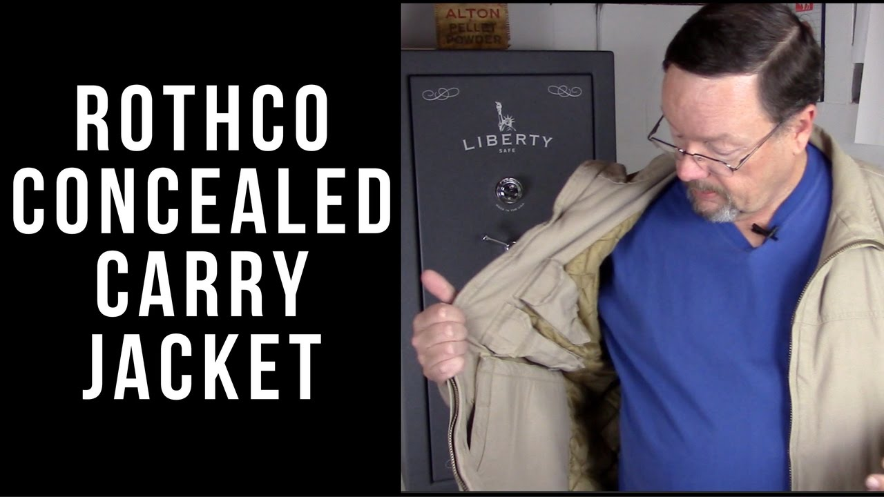 Rothco 3 season concealed carry jacket update