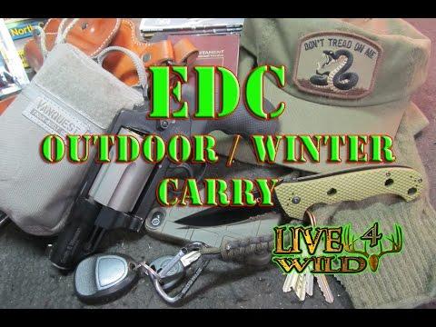 EDC OUTDOOR / WINTER CARRY