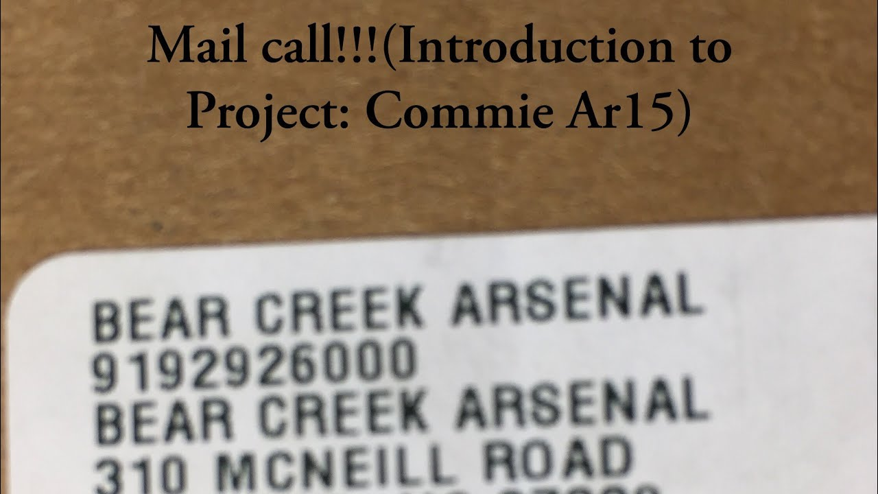 Mail call!!!