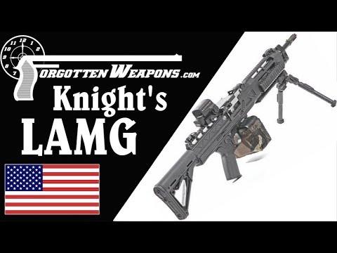 Knight's Assault Machine Guns at the Range