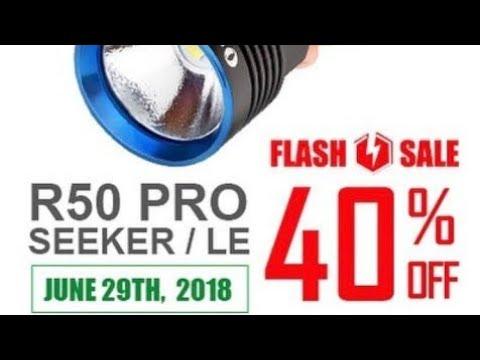 40% OFF of Olight R50 Pro Seeker/LE on 29th June