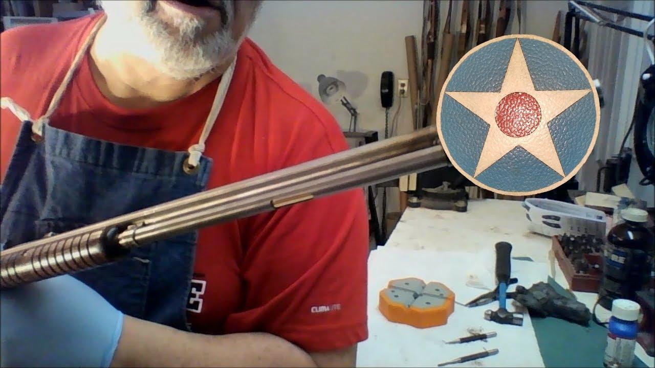 The Old Gunsmith - Project Gun Part 14 - New Magazine Tube Refinish & Singing Gunsmith Greatest Hits