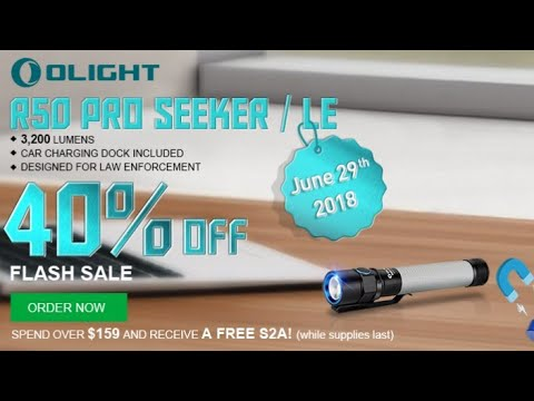 Olight R50 Pro Seeker - 3200 lumens