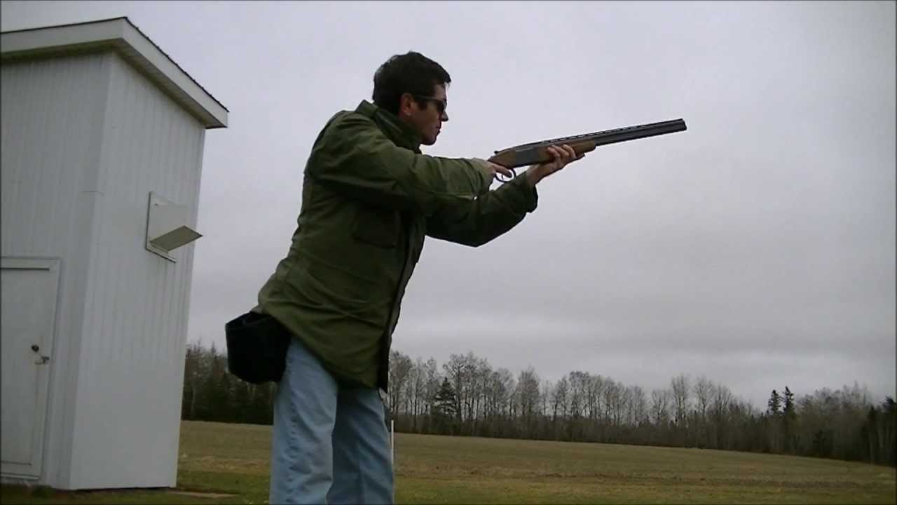 Skeet with the Baikal IZH 27 20 Gauge Shotgun