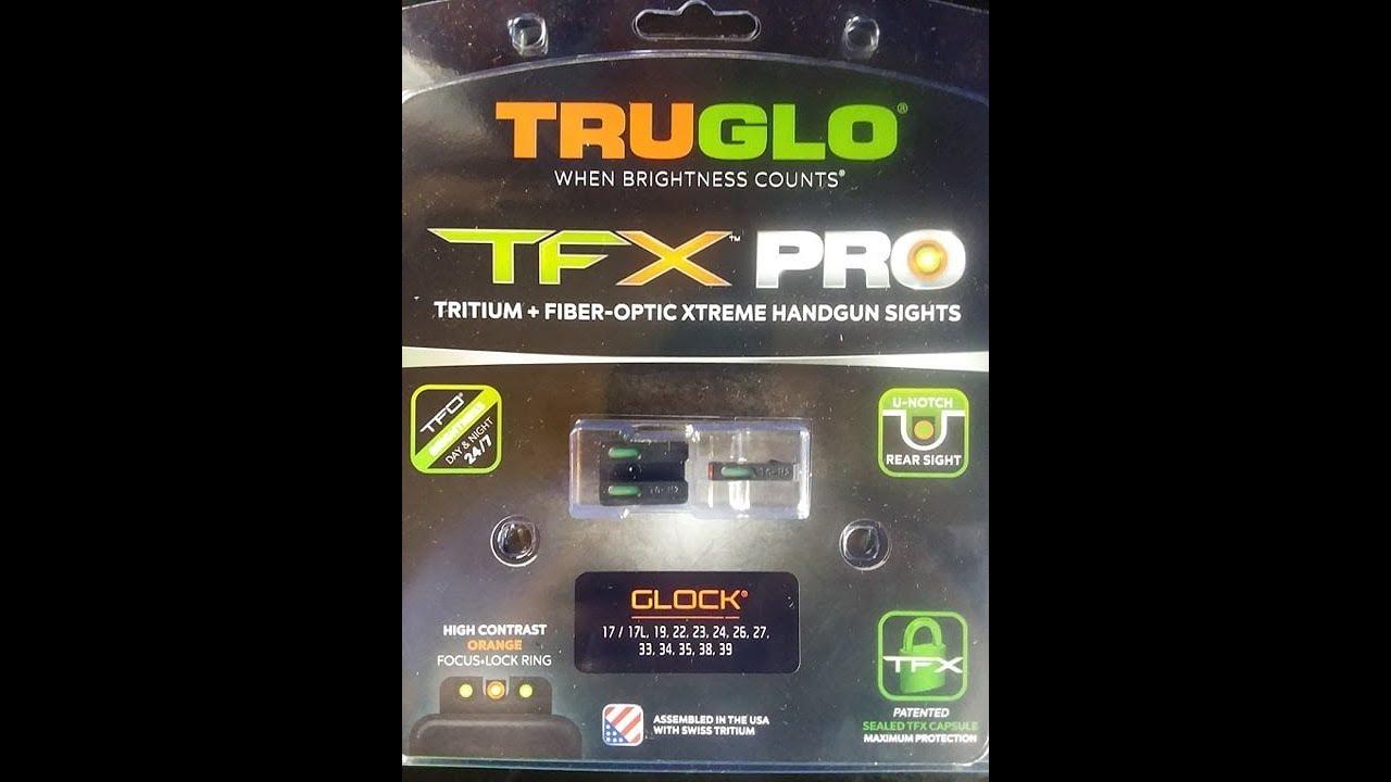 Buy Truglo TFX Pro Sights?
