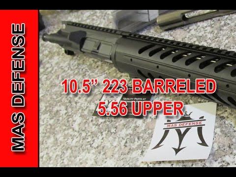 AR-15 Pistol Upper by MAS DEFENSE 10.5