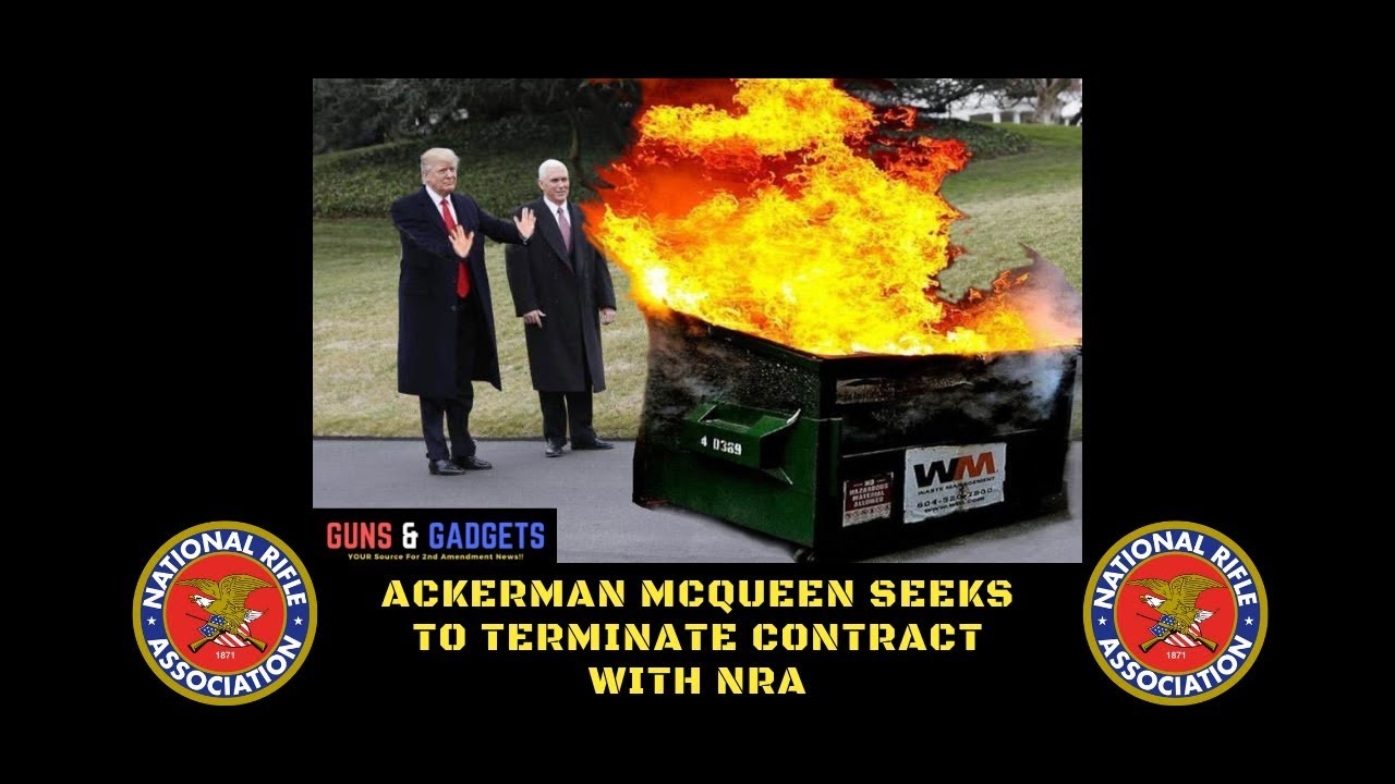 Ackerman McQueen Seeks To Terminate Contract With NRA