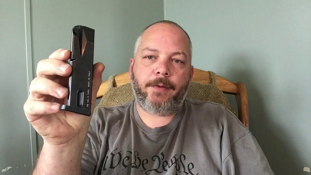 Disassemble and reassemble a beretta 92 series magazine