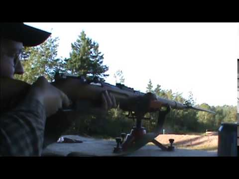 Mosin M91/30 Bayonet Test 25, 50 & 100 Yards