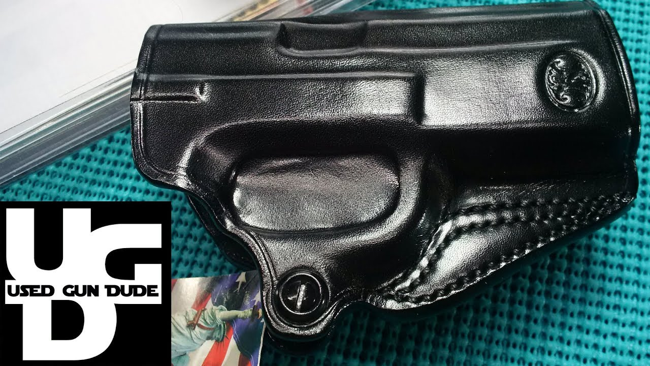 Review of Galco Miami classic shoulder holster