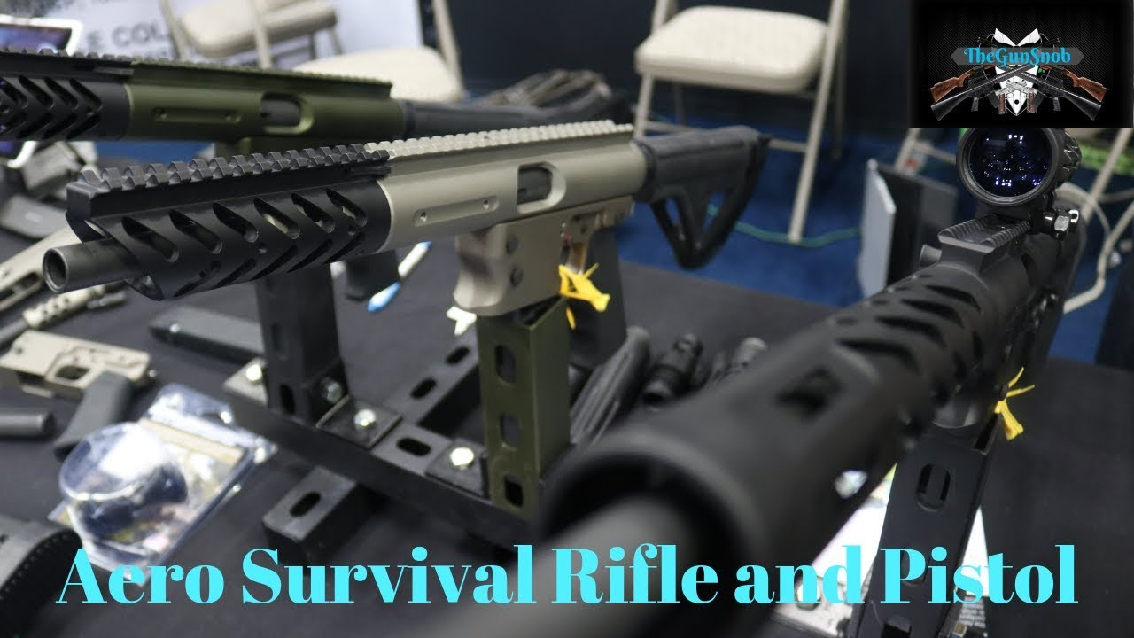 TNW Firearms Aero Survival Rifle and Pistol