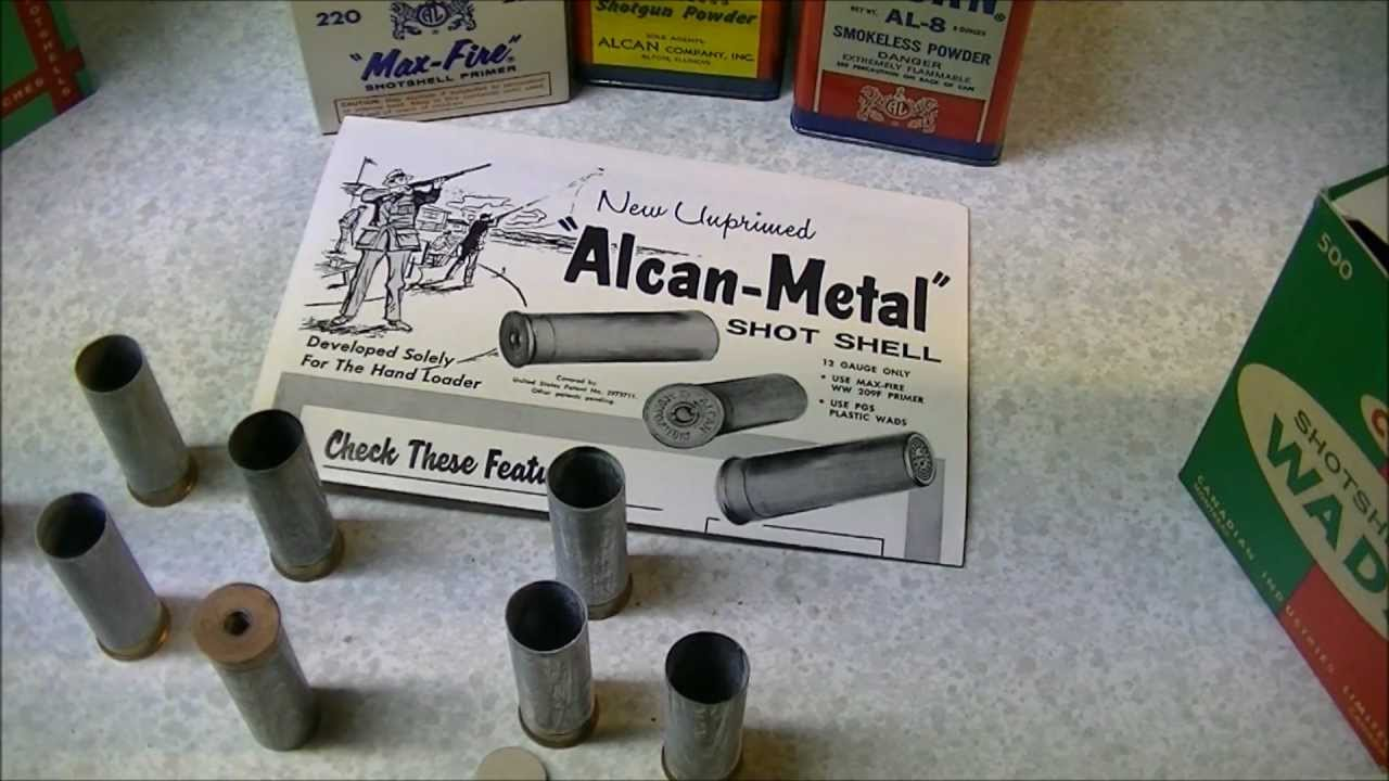 Alcan Metal 12 Gauge Shotshells