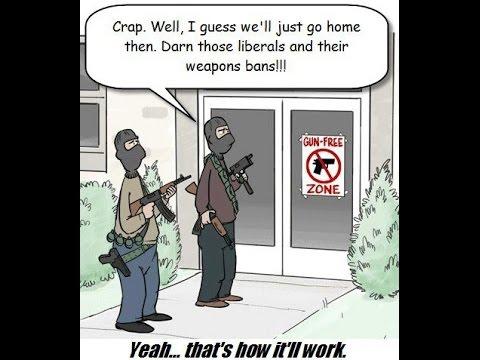 Оружие, Законы и Массовые Расстрелы - Мое Мнение